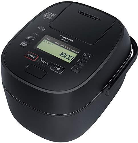 パナソニック 炊飯器 5.5合 可変圧力IH式 おどり炊き ブラック (幅×奥行×高さ)27.1×35.2×23.6cm SR-MPA100-K