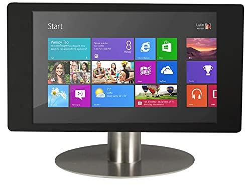 Bravour Fino - Soporte de mesa para tablet Microsoft Surface Pro 12,3', color negro y acero inoxidable