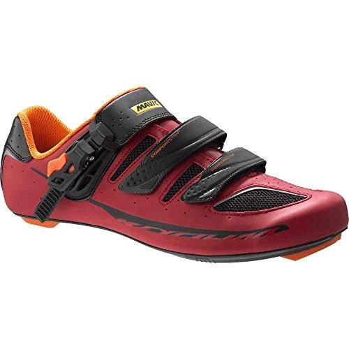 MAVIC Ksyrium Elite Chaussures de vélo de Route Rouge/Noir Taille 46