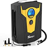 SKEY Digital Tyre Inflator, Car Tyre Pump, 12V 150 PSI Tire air Pump with...