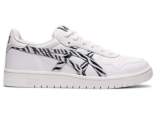 ASICS Zapatos de mujer Japan S, blanco (Blanco/Negro), 37.5 EU