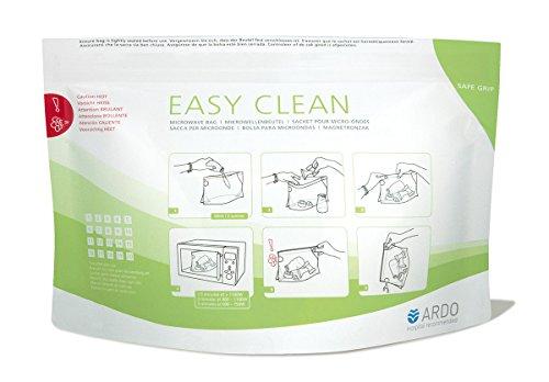 Ardo Medical 2303900073 Sacca Easy Clean per Sterilizzare Poppatoi e Tettarelle al Microonde, 5 Pezzi