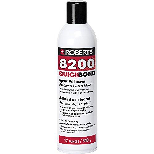 Roberts 8200-12 Quick Bond Spray Adhesive, 12oz