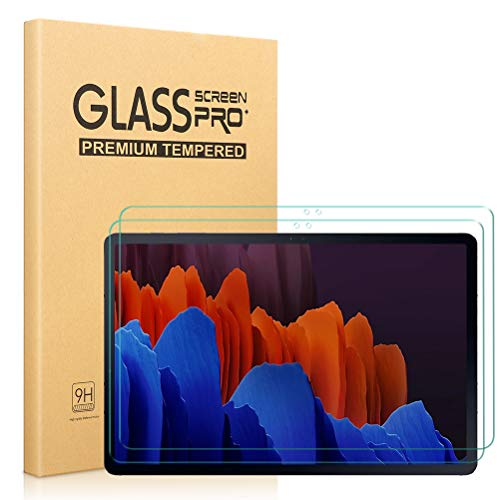 [2 Piezas] Protector de Pantalla para Samsung Galaxy Tab S7 Plus, Alta...