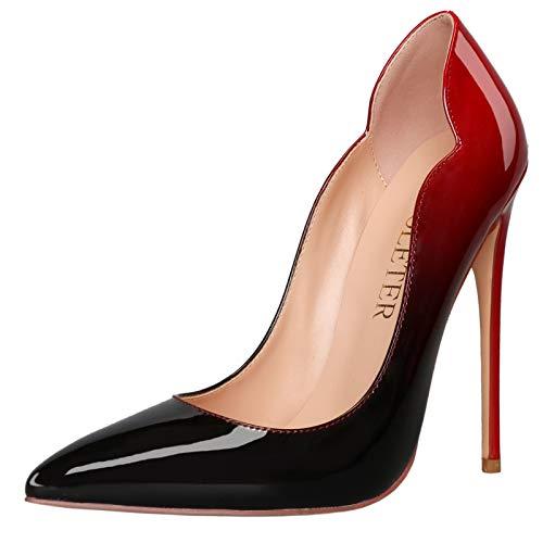 COLETER High Heels for Women, 4.72 inch/12cm...
