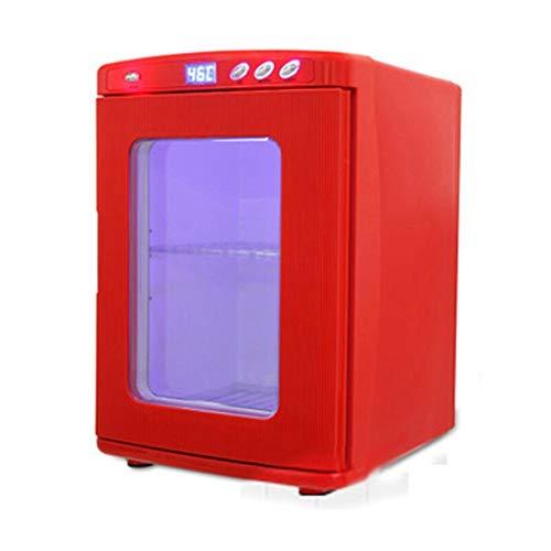 QCYSK Mini-koelkast, 25 liter, Dual Core-Mute-CNC-display, koelbox voor koelkasten, thuis en in de auto, zwart