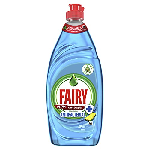 Fairy Ultra Concentrate Antibacterial Dishwashing Liquid, 475 Milliliters