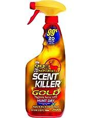 Wildlife Research Investigación de Vida Silvestre Scent Killer Oro Ropa y spray de arranque, (24 onzas)