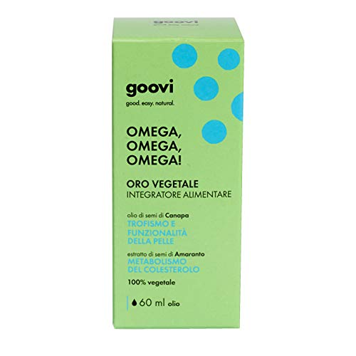 The good vibes company srl Goovi Omega, Omega, Omega! - Oro Vegetale - 60 ml
