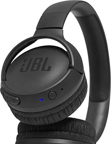 JBL Tune500BT Cuffie Wireless Sovraurali con funzione Multipoint e Ricarica veloce, Cuffie On-Ear Bluetooth con connessione a Siri e Google, Fino a 16h di Autonomia, Nero