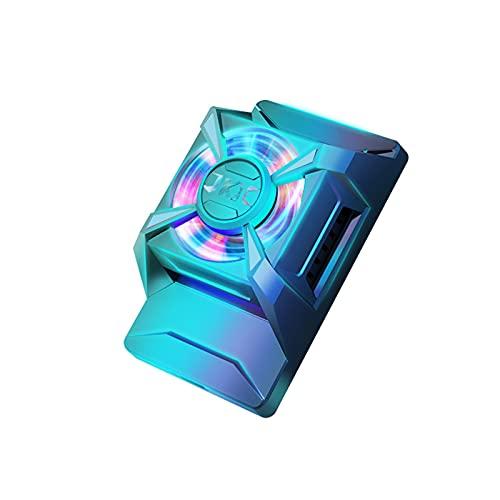 Taitan Radiador de teléfono móvil Gaming Universal Phone Cooler Soporte de ventilador portátil ajustable disipador de calor para teléfonos celulares