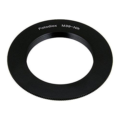 Adaptador de Montaje de la Lente Fotodiox - Leica L39 (M39, Hilo de 39mm x 1mm) Lentes de Tornillo a Mount Sistema de cámara Nikon F (FX, DX) (Such as D7100, D800, D3 y más)