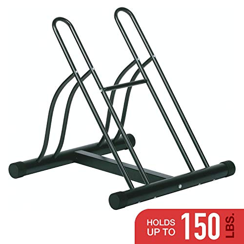 Racor - PBS-2R - Floor Bike Stand - for 2 Bikes (Renewed)