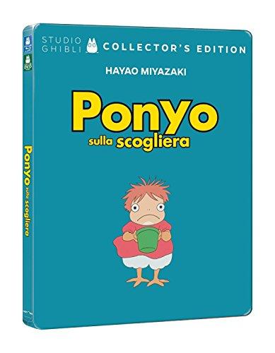 Ponyo sulla Scogliera (Steelbook) (2 Blu-Ray)