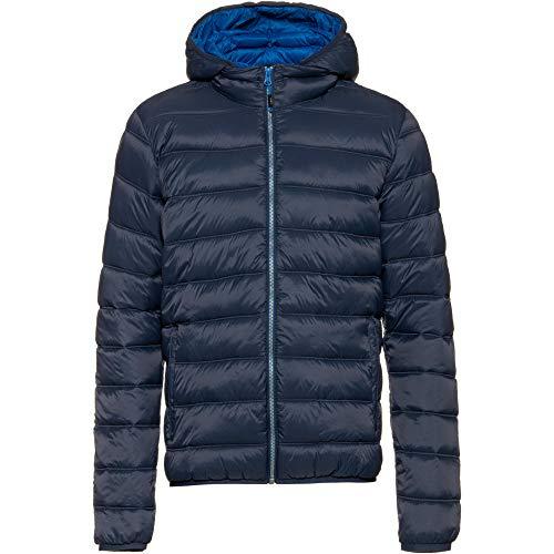 CMP Herren Man Jacket Zip Hood Steppjacke blau 46