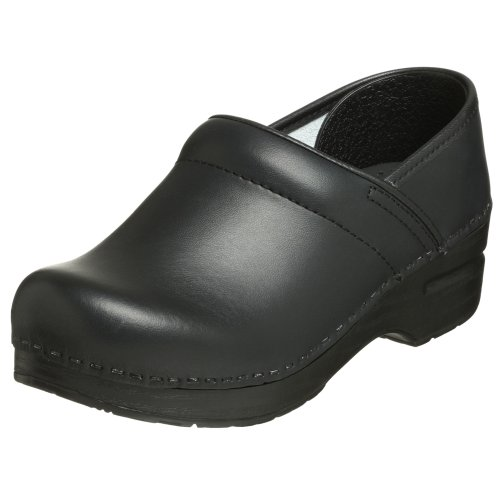 Dansko Women's Professional Black Box Clog 8.5-9 Wide US