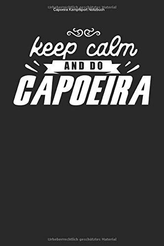 Capoeira Kampfsport Notizbuch: 100 Seiten | Kariert | Kurs Gym Kämpferin Schule Trainer Brasilianisch Kickboxen