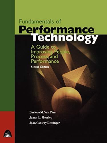 Van Tiem Fundamentals of Performance Technology