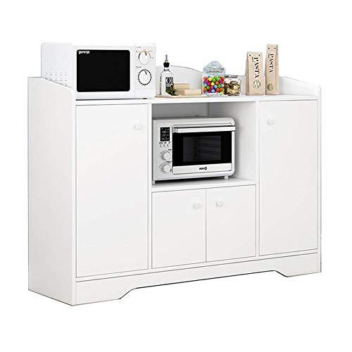N/Z Living Equipment Table Basse pour Salon Buffet Armoire de Rangement Buffet Buffet Armoire Console Table à Manger Serveur Entrée Bar Armoire de Rangement (Couleur: Blanc Taille: 110x30x82.5cm)