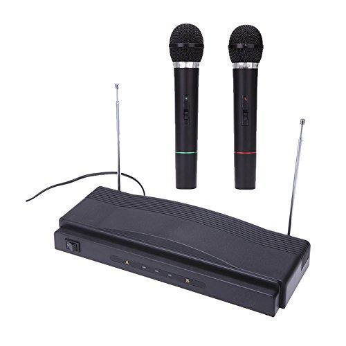 Andoer® Estudio Inalámbrico Mic Sistema de Micrófono Remo