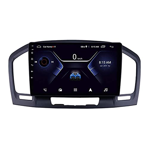 Android 10.0 coche Radio Stéreo Para Opel Insignia 2009-2013 Multimedia Player FM Reproductor GPS Navegación IPS Pantalla Táctil Soporte 4G Wifi SWC Carplay Bluetooth DSP,4 Core WiFi: 1+16GB