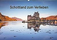 Schottland zum Verlieben (Wandkalender 2022 DIN A2 quer): Abwechslungsreiche Landschaften und vielfaeltige Zeugnisse einer langen Geschichte praegen das Bild Schottlands. (Monatskalender, 14 Seiten )