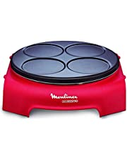 Moulinex PY312511 ACCESSIMO Pannenkoeken Party Rond Red