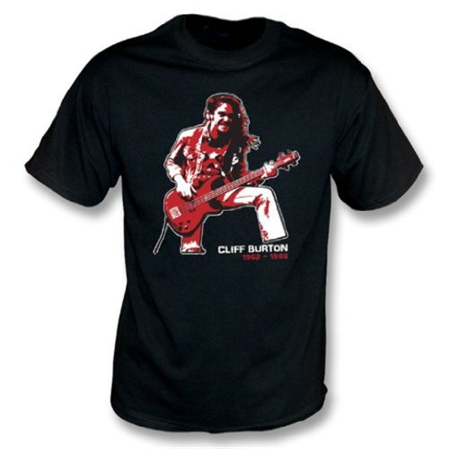 Cliff Burton (Metallica) Tribute T-shirt XX-Large Black