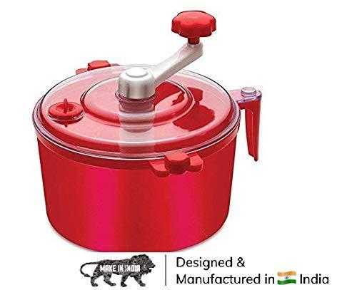 DONDA Plastic Portable Atta Maker Machine |Dough Maker |Atta Maker for Kitchen (Multicolor)