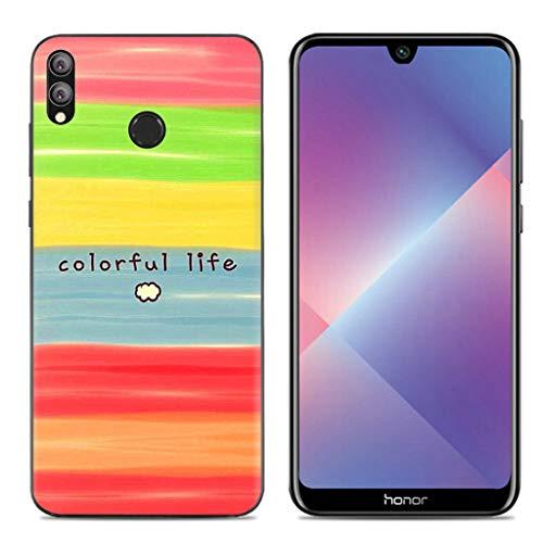 Litao-Case LLM Custodia per Huawei Honor 8X JSN-LX3 JSN-L23 Custodia TPU Morbido Silicone Case Cover 11