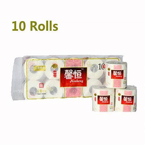 TRWA Verdikt Waterbestendig papier handdoeken Comfort care roll bad weefsel papier 3 Laag Primair hout pulp restaurant roll papier wit Ideaal voor De Wasruimte