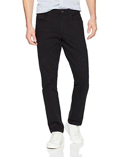 Marca Amazon - Goodthreads - Pantalones de chino para hombre (5 bolsillos) negro Negro 31W
