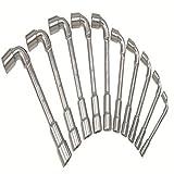 Ks Tools 517.0442 Jeu De 12 Clés À Pipe Débouchées Métriques - 6 Pans - En Boîte