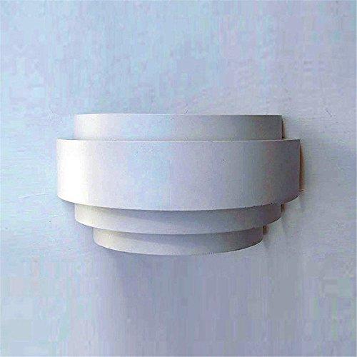 WEXLX Mur de fer minimaliste lampadaires lampe pour chambre à coucher salle de séjour 270 * 135 * 110mm