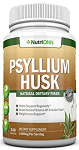 Maintains Regularity And Prevents Constipation - When combined with water, pysllium husk forms a gel (that is naturally gluten free!) that can help to keep the bowels regular and is far more gentle – and natural – than using a laxative. 50% More Psyl...