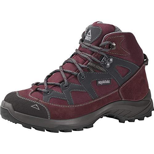 McKINLEY Damen Explorer Mid AQX Walking-Schuh, Sangria Grey Dark, 41 EU