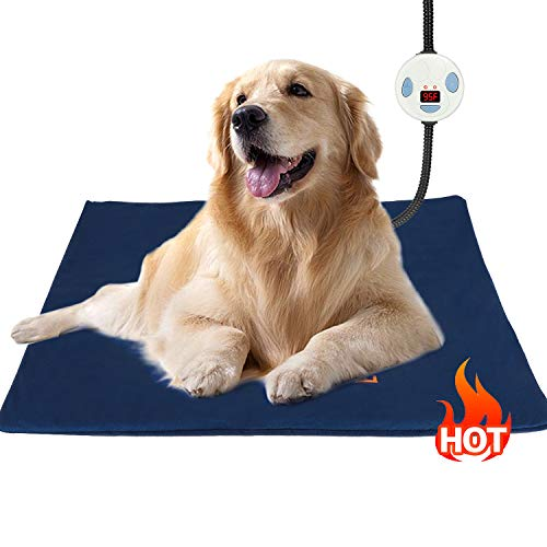 Youshuo Heating-Pet-Pad, Electric Heating Pad for Dogs and Cats, Waterproof Heated Pet Pad,...