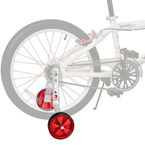 JUEYAN® 1 Par Ruedines para Bicicleta Infantil Universal Se
