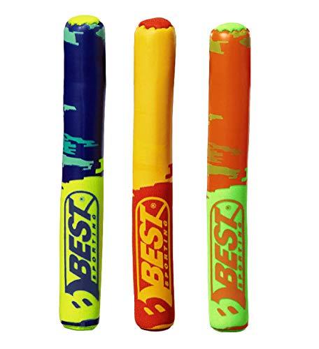 Best Sporting Tauchstäbe, rot/gelb, blau/gelb und grün/orange