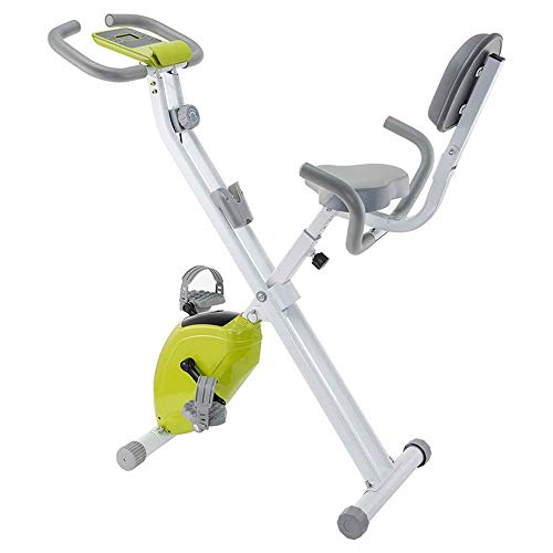 N\A Plegable del hogar Bicicleta de Giro Ultra silencioso Interior Entrenamiento aeróbico Sports Bike con Manillar Ajustable y Asiento, Monitor LED Digital