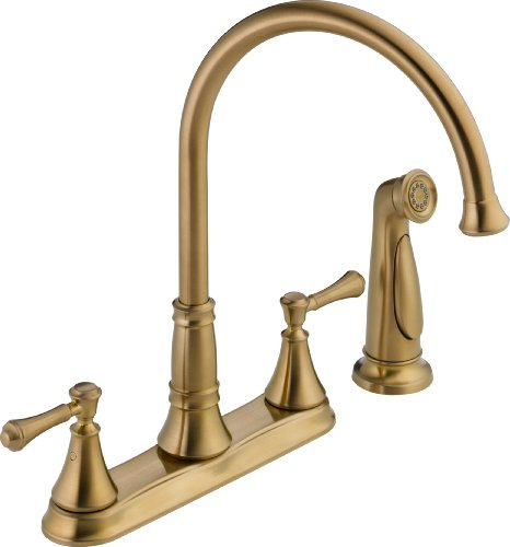 Delta Faucet 2497LF-CZ, 8.34 x 10.41 x 8.34 inches, Champagne Bronze