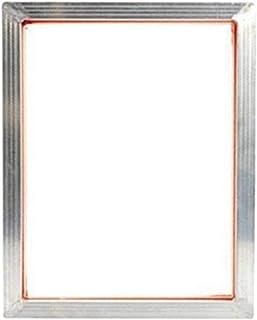 CROSYO 5pcs 120T Sérigraphie Kits d'impression Cadre en Aluminium + Pince à charnière + Emulsion Scoop Coat + Speegee Silk...