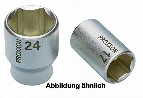 PROXXON Steckschlüssel-Einsatz, 1/2 Zoll, vierkant 19 mm sechskant, 1 Stück,23418