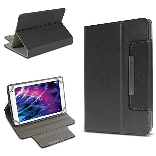 UC-Express Medion Lifetab P10612 P10610 E10604 E10412 P10606 P10602 P9702 X10302 P10400 P10506 P10505 S10366 S10352 Tablet Hülle Universal Tasche Schwarz Cover Case