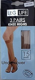Undercover Women's 6 Pairs 15 Denier Pop Socks