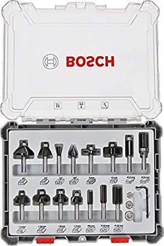 Bosch Professional 15tlg. Fräser Set...