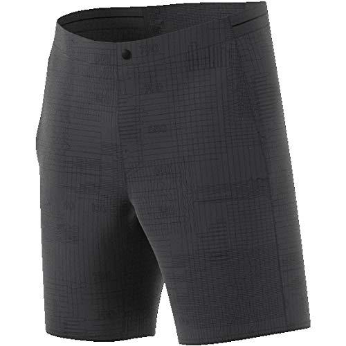 adidas Herren Mountain Fly Allover Print Shorts, Carbon, 52