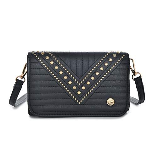 E2O Women's Sling Bag (Black)