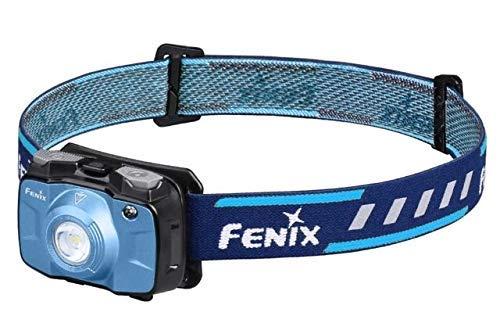FENIX HL30 Linterna Frontal LED 2018 con Pilas AA, HL3075CW Azul, Unisex-Adult, Blue, smal