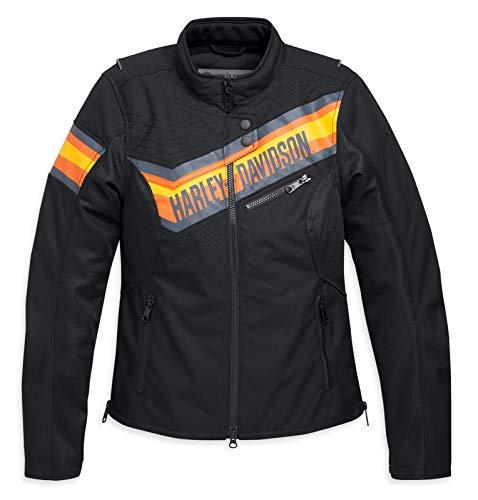 HARLEY-DAVIDSON Damen Motorrad Jacke Schutzjacke mit Protektoren Sidari, M
